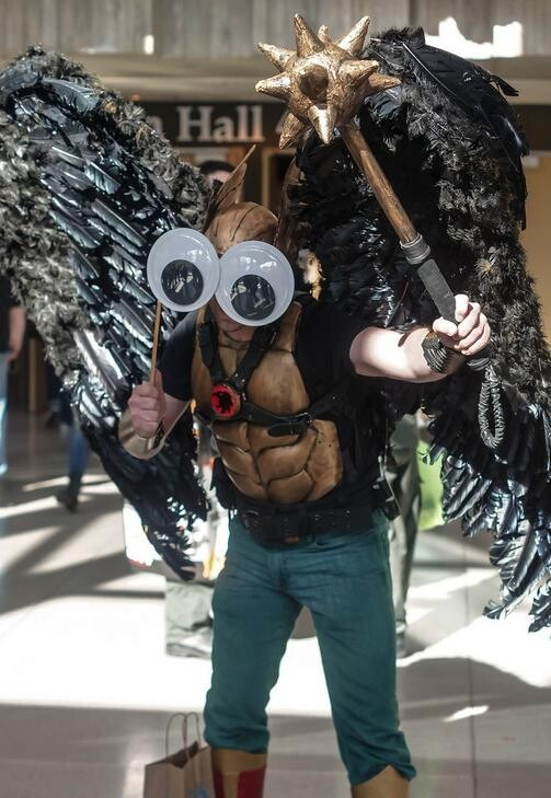 Cosplay Improved With Giant Googly Eyes