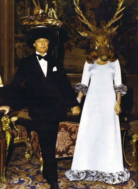 Extraordinarily Odd Photographs From A 1972 Rothschild Party