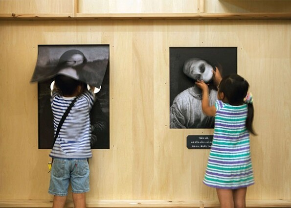 Creepy Haunted Art Gallery for Kids in Japan