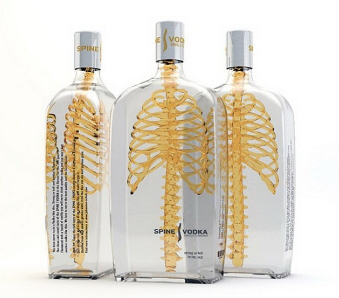 Spine Vodka: Awesome Concept