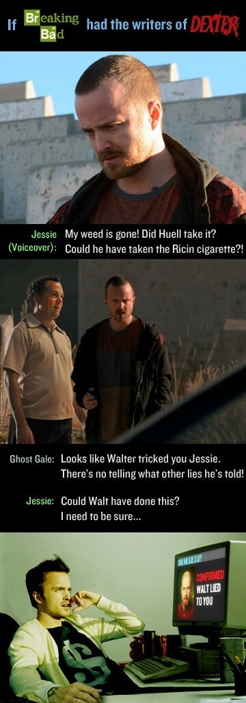 What If Dexter Writers Wrote Breaking Bad?