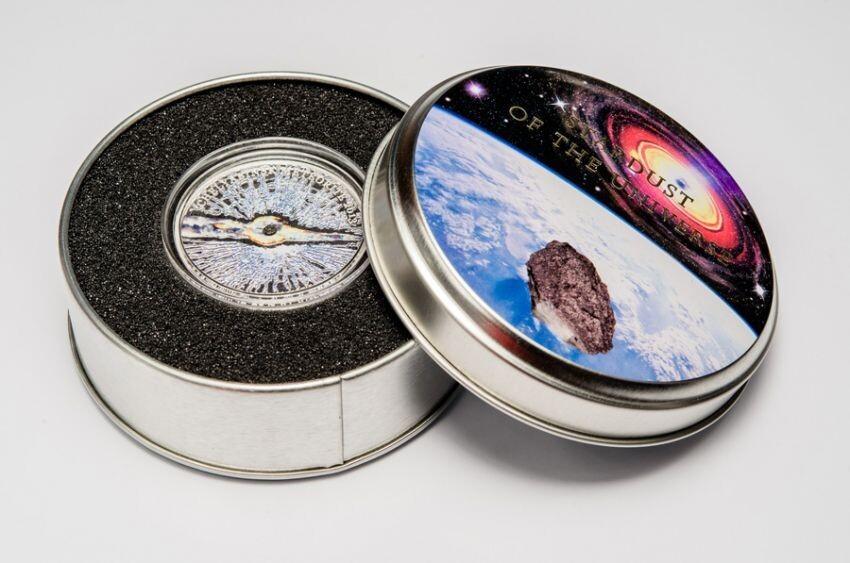 New Silver Coin were made of Chelyabinsk Meteorite