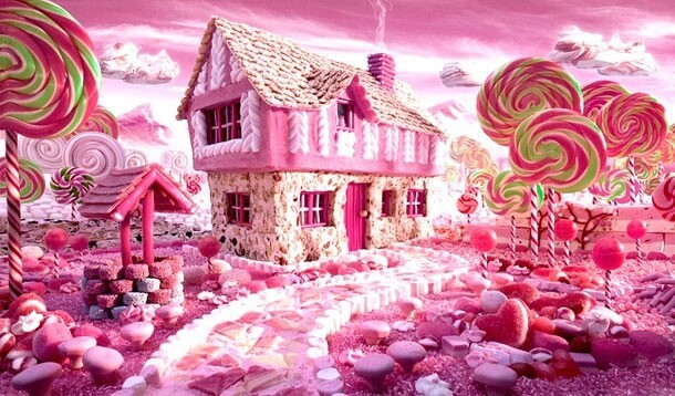 16 Outstanding Fantasy Landscapes Created From Food