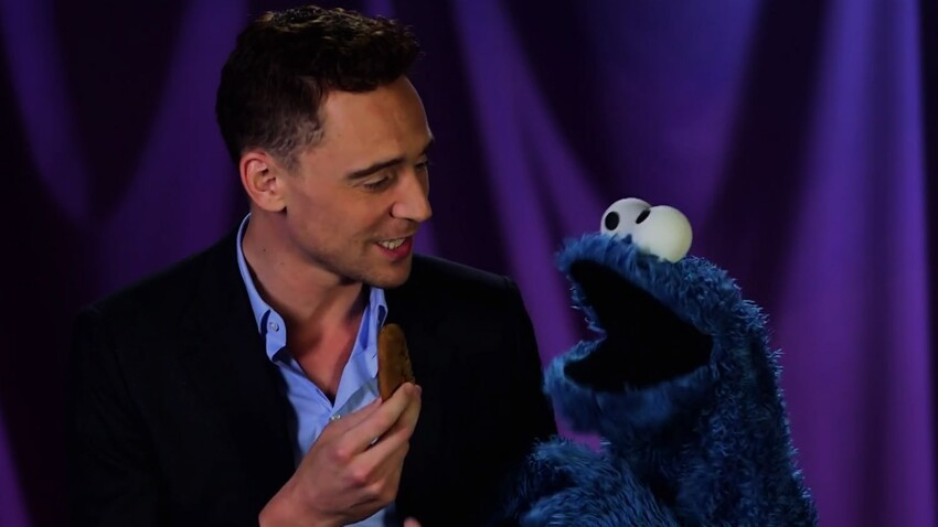 Tom Hiddleston Teaches Cookie Monster a Lesson