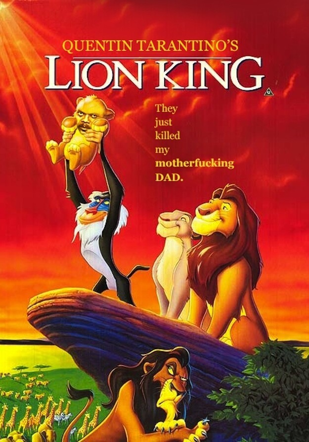 What If Quentin Tarantino Wrote Disney Movies for Samuel L. Jackson?