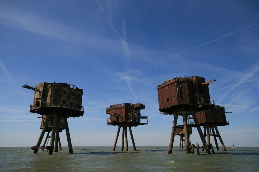 4. The Maunsell Sea Forts, England