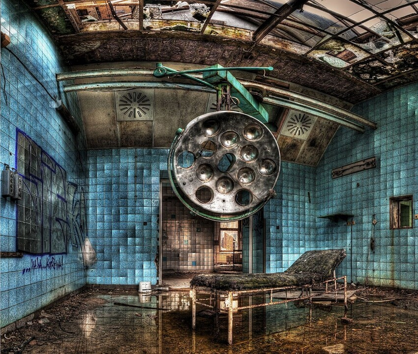 Haunting Images of Abandoned Places That Will Give You Goose Bumps