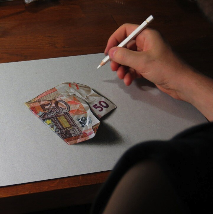 Incredible Hyperrealistic Drawings of Everyday Objects