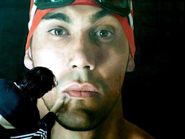 These Giant Hyperrealistic Paintings Will Absolutely Floor You