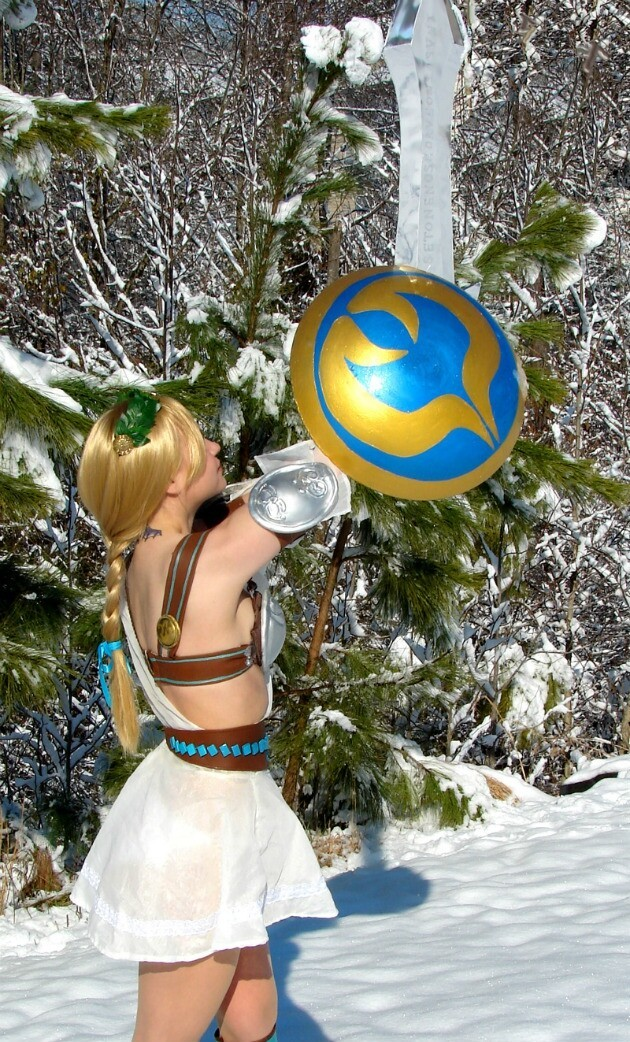 Sophitia (Soul Calibur 3) Awesome Cosplay