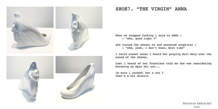Artist Creates 12 Shoes For 12 Ex Girlfriends