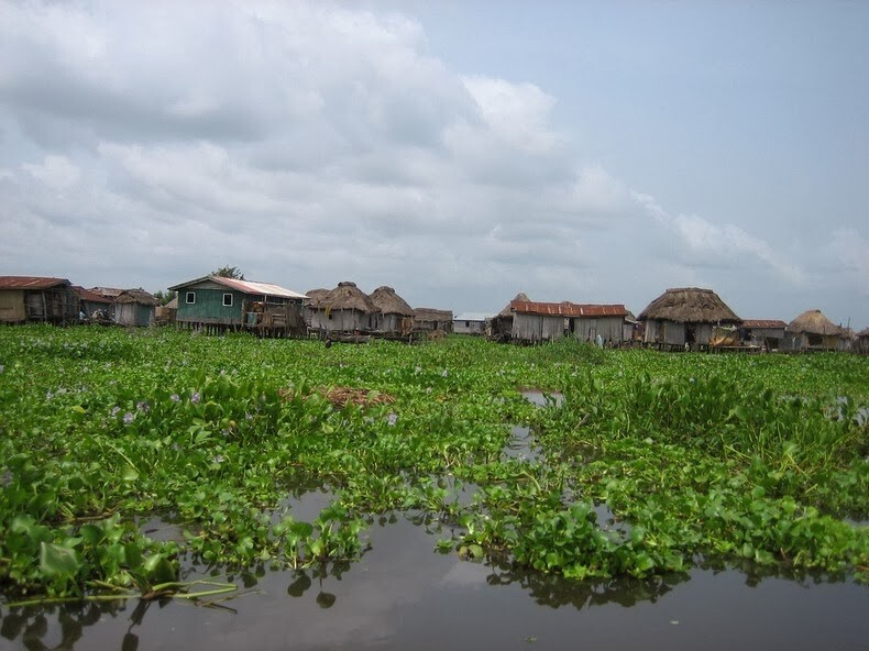 Ganvie, the village on a lake