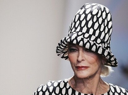 3. Carmen Dell'Orefice, 82
