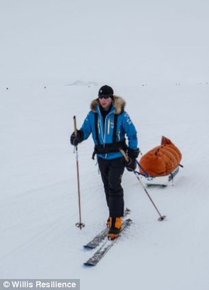 Trip to the South Pole by 19-year-old Parker Liautaud