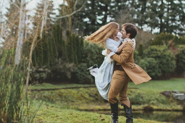 Engagement in style of Pride and prejudice