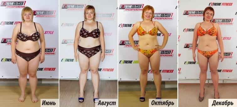 Finalists of Extreme transformation competition