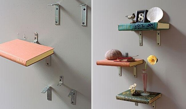 Old things turned into creative household objects