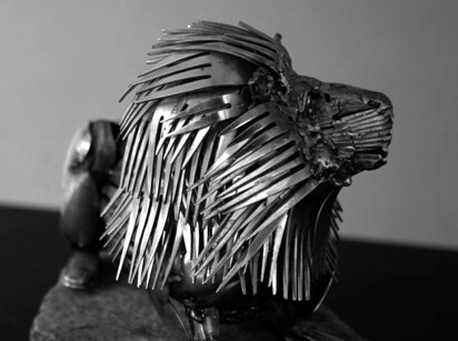 These Animal Sculptures Made Entirely Out Of Cutlery Will Amaze You