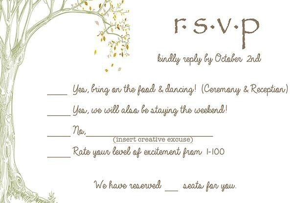 9 Hilarious Wedding Invitations That Simply Can't Be Ignored