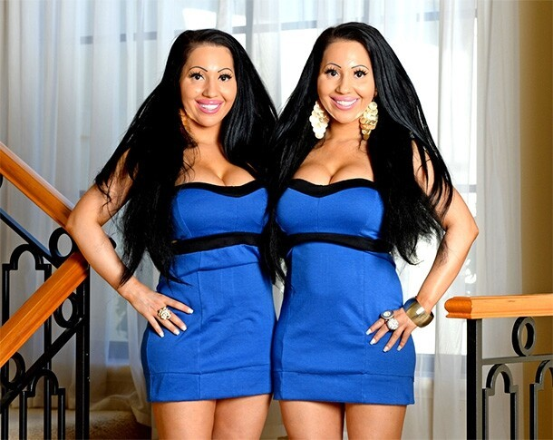 Twin Silicone Sisters Share Everything, Including Their Boyfriend