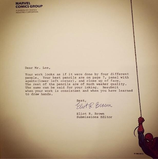 9 Rejection Letters To Famous People