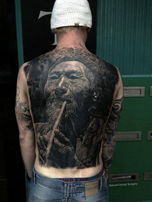 Truly Awesome Photos Of Tattoos Throughout History