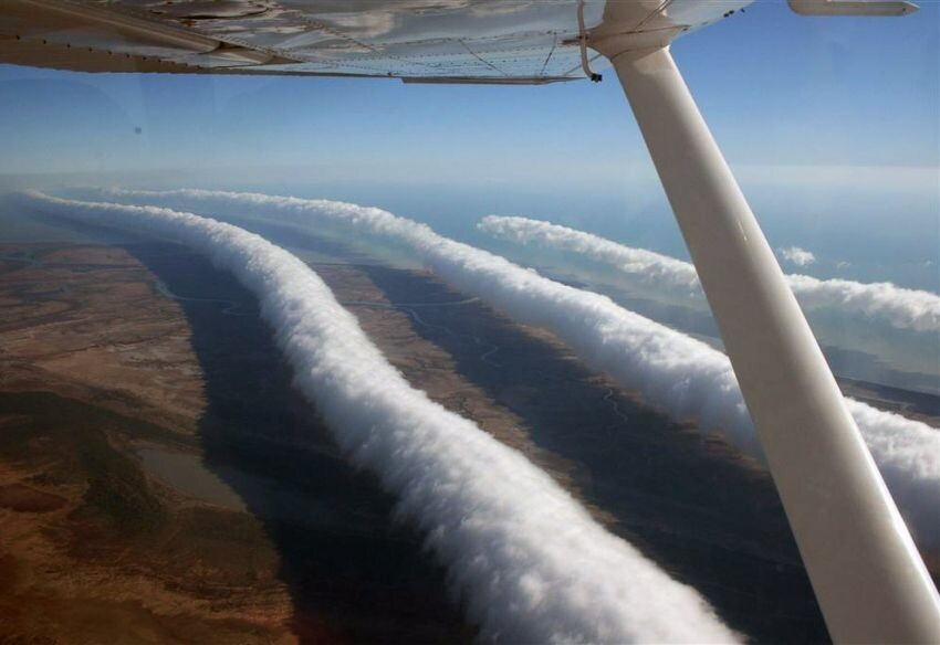 Rare weather phenomena