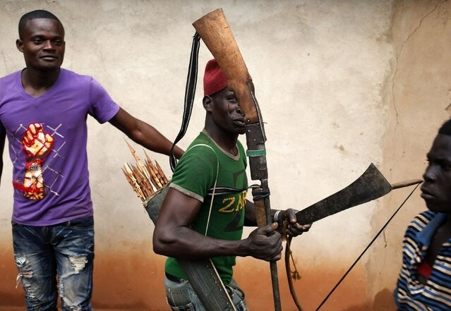 Portraits of a Militia in Central African Republic
