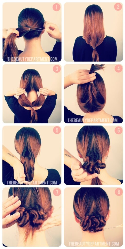 Hairstyles that will last for two days
