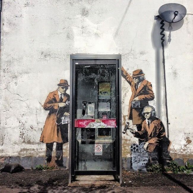 Street Canvas: Best Works By Banksy