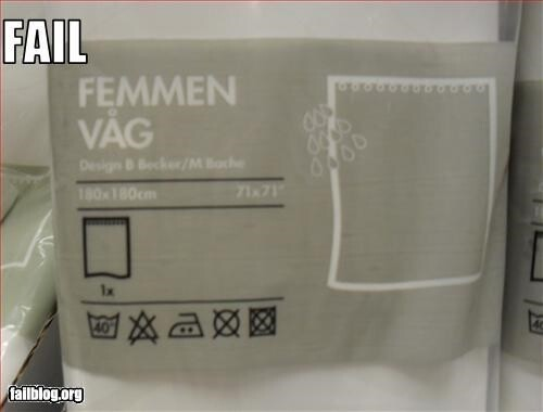 24 Rather Unfortunate Ikea Product Names