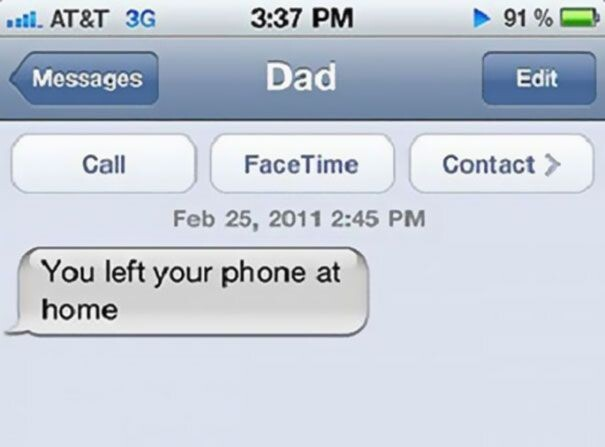 Why Your Parents Should Never Be Allowed To Text