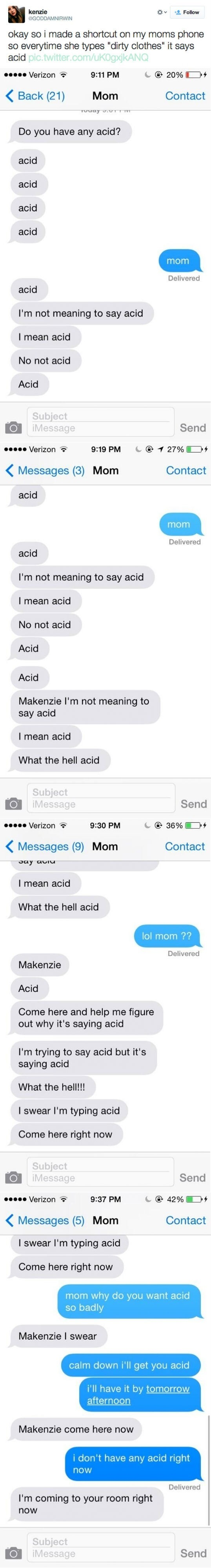 The Reasons Why Parents Should Never Text