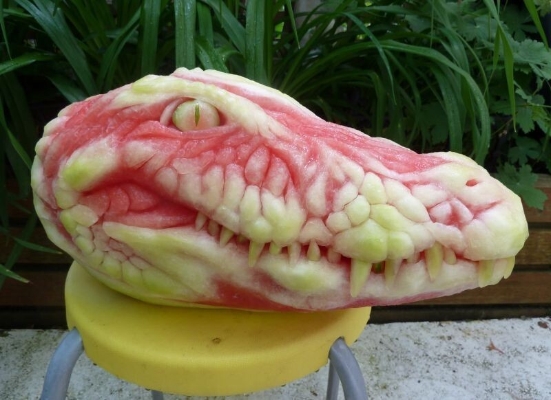 14 Watermelon Sculptures That Will Inspire You