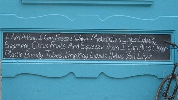 Store Signs That Are Actually Pure Poetry