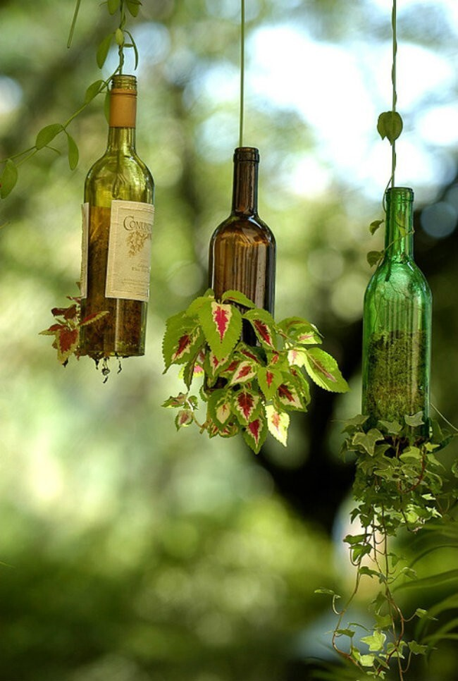 Creative Ways To Turn An Empty Wine Bottle Into A Work Of Art