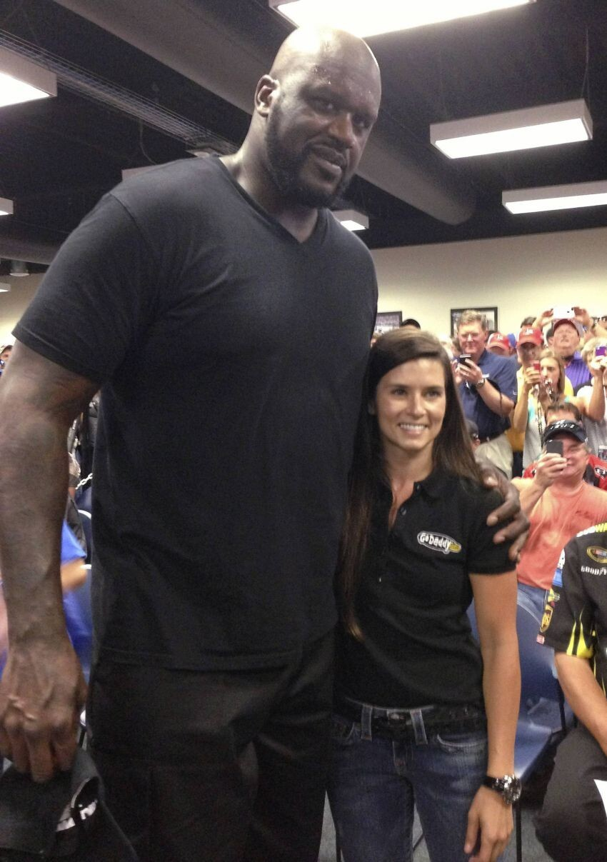 Everyone Looks Small Next to Shaq!