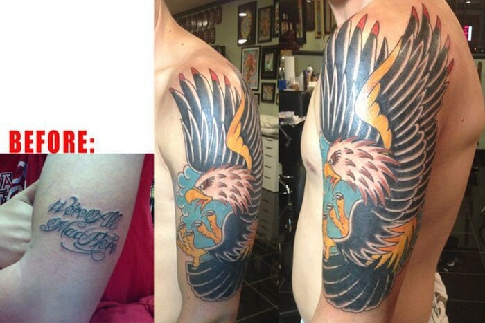 These Terrible Tattoos Turn Into Something Epic