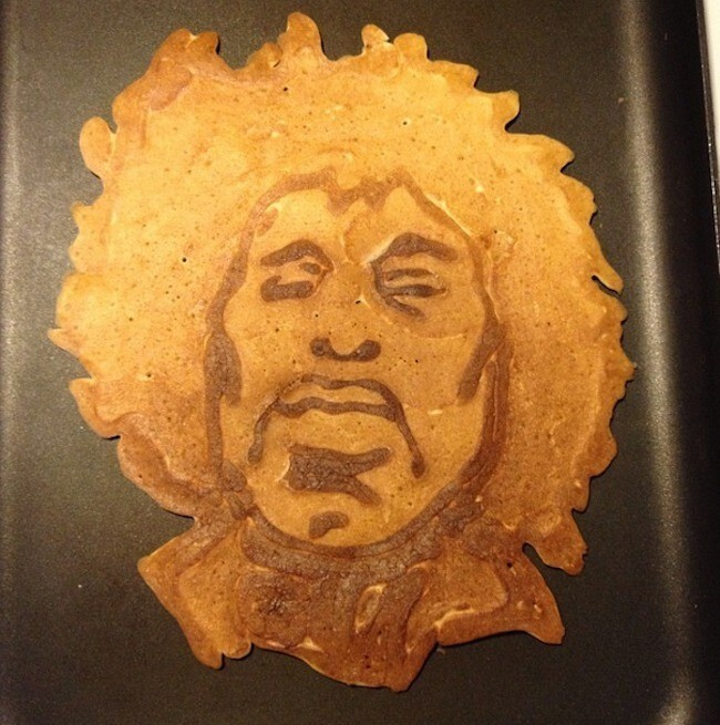 This Dad Creates Amazing Pancake Cartoons For His Two Hungry Kids
