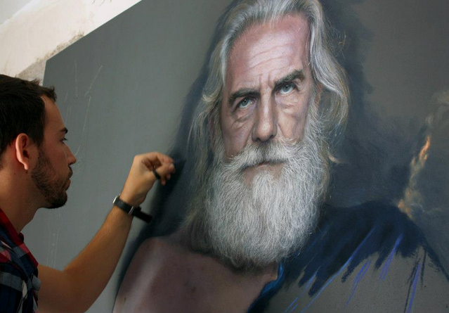 Realistic Drawings By Ruben Belloso Adorna
