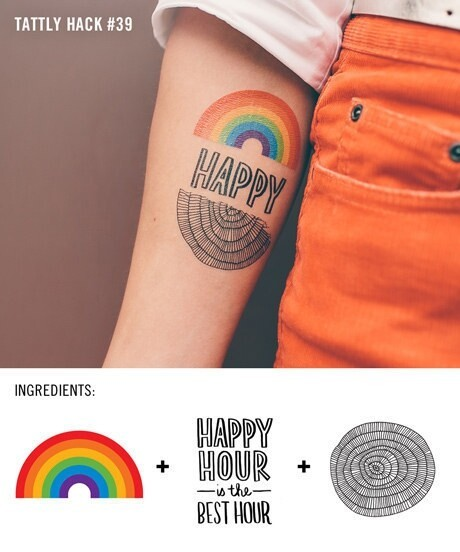 Insanely Clever Temporary Tattoo Hacks