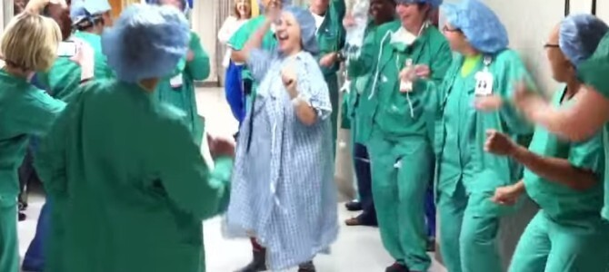 This Woman Had An Epic Dance Party Before Her Double Mastectomy