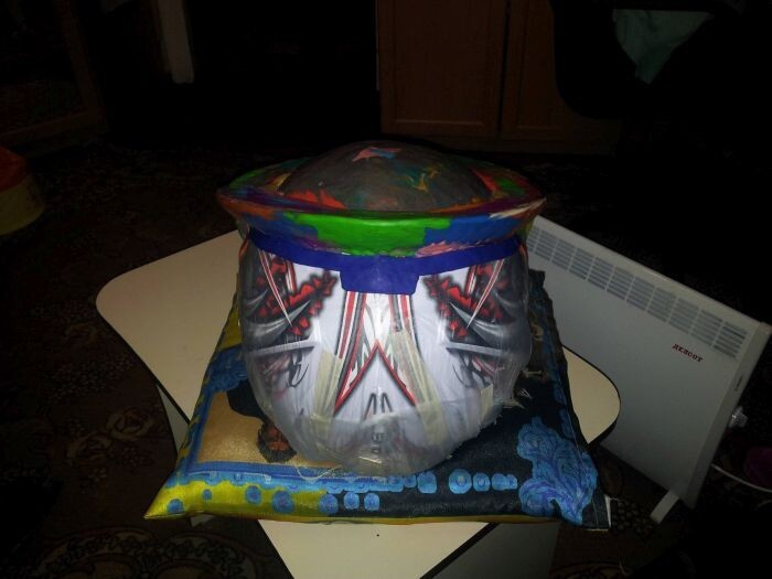 This Homemade Predator Helmet Is Just Awesome