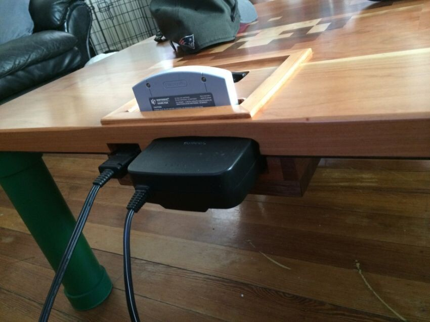 Yes, I could have used this hand-built N64 table in college
