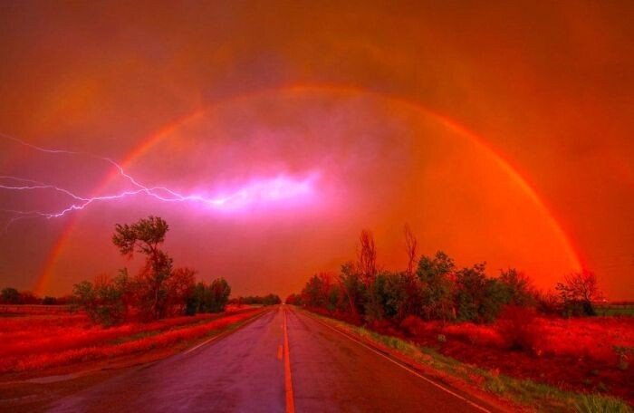 When Nature Decides To Put On A Show