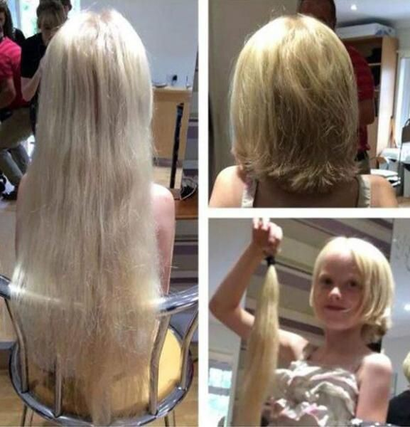 "6-Year-Old Chopped Off Her ""Rapunzel"" Hair For Children With Cancer"