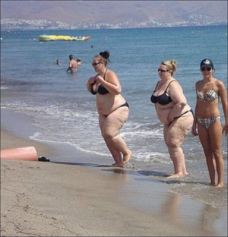 Hilarious beach photos