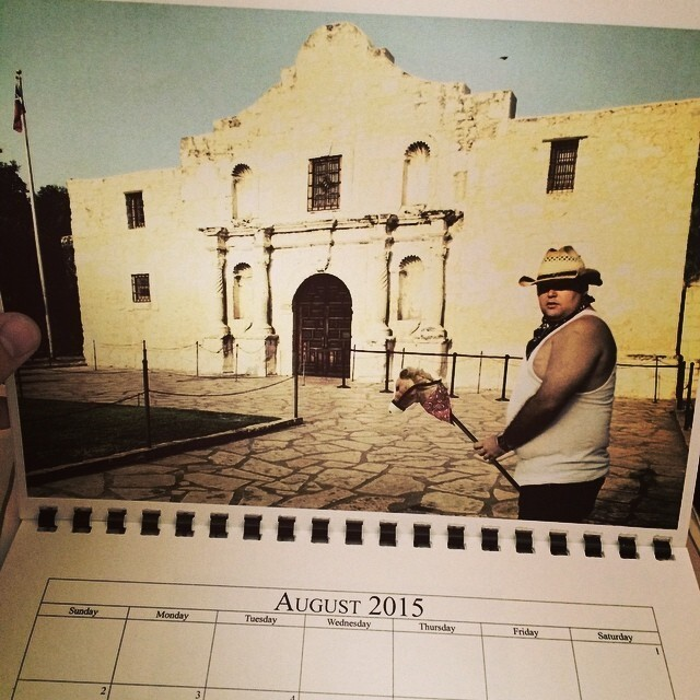 After Losing A Bet, He Was Forced To Create An Embarrassing Calendar