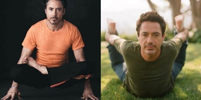 Yoga's For Wimps? Try Telling These Celebrity Men!