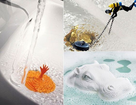 Awesomely Creative Bath Tub Stoppers